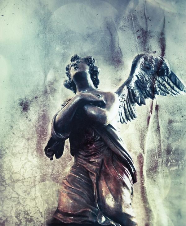 Statue de guérison ange