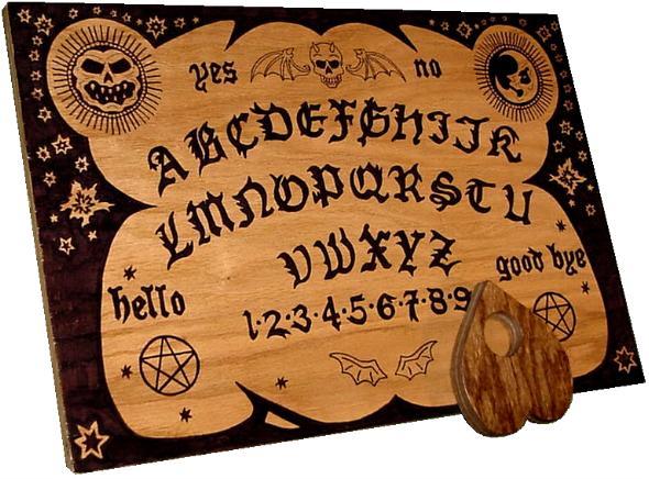ouija board anglais