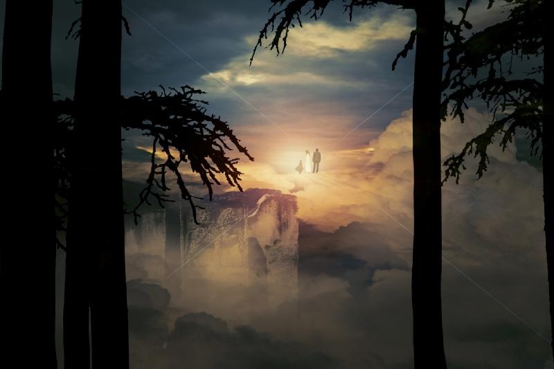 ciel du royaume psychique