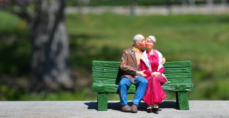 rester ensemble pour toujours jusqu'à ce que nous soyons vieux